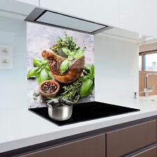 Kitchen Glass Splashback Heat Resistant Toughened Glass 60x75cm
