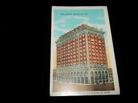 Vintage Postcard, INDIANAPOLIS, INDIANA, IN, Hotel Severin, 1938, To Superior,ID