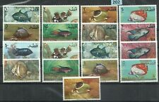 FSS 202  Qatar  Fish Rare  set as scan MNH
