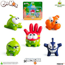 PROSTO TOYS Cut the Rope 201407 Collection Figure, Set (5 pc), Cartoon Character