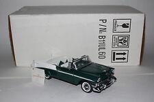 Franklin Mint 1956 Chevrolet Bel Air Convertible, 1:24 Diecast Metal Car, Lot #2