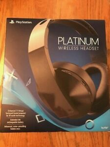 SONY PLAYSTATION 4 PLATINUM WIRELESS HEADSET BRAND NEW AUTHENTIC