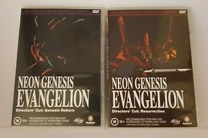NEON GENESIS EVANGELION DVD DIRECTORS CUT: RESURRECTION & GENESIS REBORN R4
