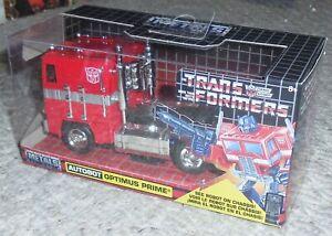 Jada Toys Hollywood Rides Transformers G1 Optimus Prime Misb Neuf Miniature