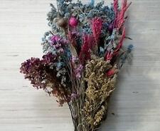 Dried Wildflowers flower bouquet Floral Arrangement Craft Flowers dry stems vase