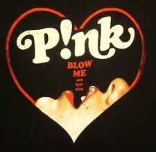PINK Truth About Love juniors med T shirt 2013 tour tee Blow Me Kiss concert