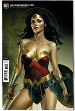 WONDER WOMAN #760 - JOSHUA MIDDLETON VIRGIN VARIANT COVER - DC COMICS/2020