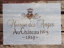 Shabby Chic Schablone PVC NEU Stamps Stempel Schrank Truhe Kommode Farbe Vintage