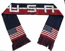 USA Scarf Stars United States Flag Soccer National Team Patriotic