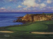 "Larry Dyke ""The Eight at Pebble Beach"" Signed and Numbered Golf Print"