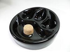 feiner PFEIFEN ASCHENBECHER - Keramik schwarz - NEU - 520725