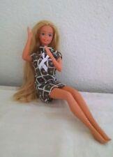 Vintage 1966 Barbie Taiwan Twist N Turn Bendable Knees Very Long Blond Hair