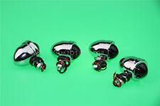 4X Bullet Chrome Turn Signals For Harley Sportster Nightster Roadster 1200
