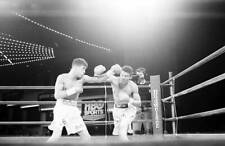 LARGE OLD BOXING PHOTO Wilson Rodriguez Throws A Punch v Arturo Gatti 1