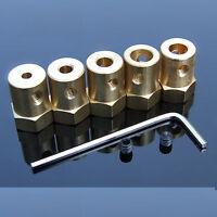 3mm/3.17mm/4mm/5mm/6mm/7mm/8mm Motor Shaft Coupling Coupler for  DIY