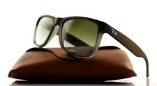 NEW Authentic RAY-BAN JUSTIN CLASSIC Brown Green Sunglasses RB 4165 854/7Z