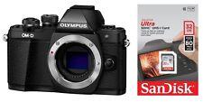 Olympus OM-D E-M10 II schwarz Gehäuse / Body + 32GB SDHC Mark 2 + 75€ Cashback