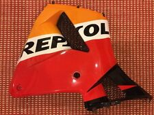 03 04 Honda CBR600RR 600 Right Mid AFM REPSOL Fairing Cowl Cover Plasti Bodywork