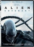 Alien Covenant DVD **VG cond** Ex-library