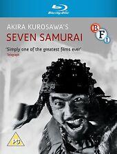Seven Samurai - Blu ray NEW & SEALED - Akira Kurosawa