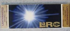 10 Eletrodos Tungsteno Soldadura TIG de 3,2 x150 mm  Lanthonados - Hecho en USA