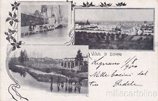 * LEGNANO - Panorami con Lavandaie 1900