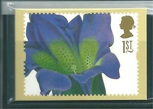 GB - PHQ CARDS -1997- GREETINGS - FLOWER PAINTINGS - COMPLETE SET  MINT