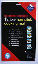 New No Mess Reusable Teflon Non-Stick Cooking Mat for use in oven/microwave etc.