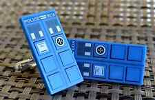 Doctor Who Lego TARDIS Cuff Links