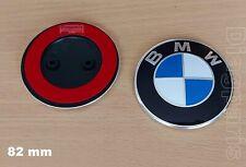 Emblème pour BMW Capot Coffre 82mm Insigne Logo Autocollant  51147057794