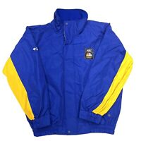 Columbia Official Salt Lake Utah Olympics NBC Sport Crew Ski Jacket Lined Coat L