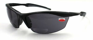 Safety SUNGLASSES WITH READERS , Choose 1.5x 2.0x 2.5x Magnification Bfocal
