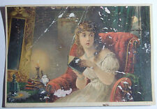 1800'S VICTORIAN TRADE CARD DR JAYNES DIST BY E A WEAKLEY SWEET AIR BALTIMORE MD