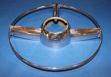NOS 1949 1950 Pontiac steering wheel chrome horn ring GM # 511993