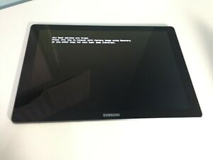 "Samsung Galaxy Tab Pro S, SM-W703 12"", 4GB RAM SSD Missing/ Hairline Crack #297"