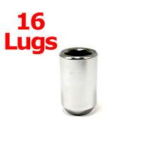 16x Excalibur 98-0117 Lug Nuts 12x1.50 Acorn 6-P Tuner/Spline Chrome Internal