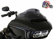 "New Klock Werks 9"" Sport Flare Dark Smoke Windshield 2015-2020 Harley Road Glide"