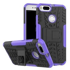 NEW Hybrid Case 2 Pieces Outdoor Purple for Xiaomi Mi 5x MI A1 Case Cover