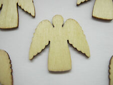 10 noël anges carte toppers 25mm arbre de noel ange décoration craft supplies