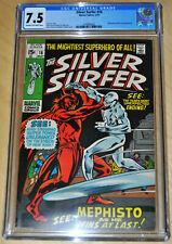 Silver Surfer #16, CGC VF- 7.5, Mephisto