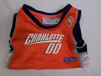 The Build a Bear Teddy Basketball Jersey Charlotte Bobcats NBA North Carolina NC