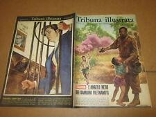 TRIBUNA ILLUSTRATA N°4/1966 J.LUCIER TERMINILLO MUSSOLINI