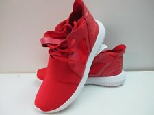 Da Uomo Adidas Defiant Rosso Bianco Tubular Tg UK 7.5 EUR 41.5