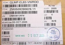 QTY (2000)  AVAGO 5mm ROUND AMBER LED CLEAR LENS T-1 3/4 ROHS QLMP-EL83-VWRDD