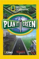 National Geographic Plan It Green PC Games Window 10 8 7 XP Computer sim nat geo