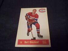1957-58 Parkhurst #19 Bert Olmstead Canadiens - ex++