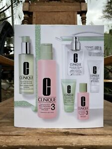 Clinique 7 Pcs Great Skin Anywhere Gift Set New
