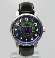 Paul Smith 2013 MASTERPIECE LIMITED EDITION AUTOMATIC PURPLE WATCH