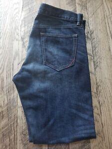 Banana Republic Vintage Straight Men's 34x32 Denim Jeans Blue 100% Cotton
