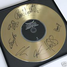 The BossHoss Liberty.. CD + Deko goldene Schallplatte + 7 x Autoramm / Autograph